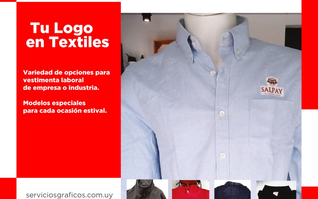 Tu logo en textiles